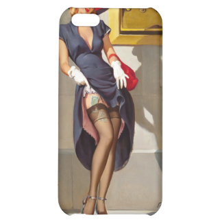 Retro Pin-Up Girl iPhone 5C Cover