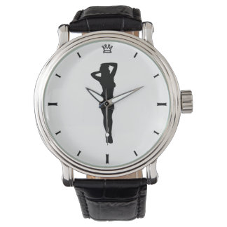 Retro Pin Up Watch