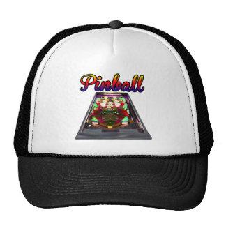 Retro Pinball Machine Design Cap
