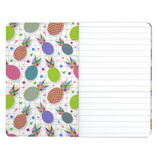 Retro Pineapple Pattern Journal