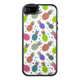 Retro Pineapple Pattern OtterBox iPhone 5/5s/SE Case