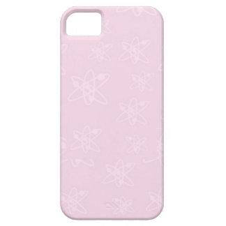 Retro Pink Atoms iPhone 5 Case