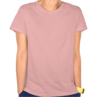 Retro Pink Crossed Pistols T Shirt
