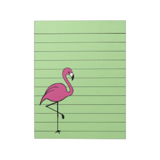 Retro Pink Flamingo To Do List Notepad Gift