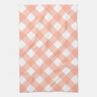 Retro Pink Gingham Kitchen Towel Gift