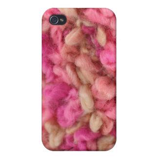 Retro Pink Poodle iPhone 4 Case
