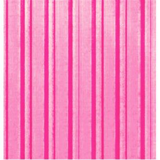 Retro Pink Stripe Acrylic Cut Out