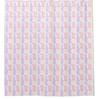 Retro Pink Too Shower Curtain