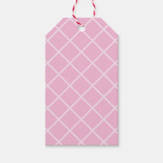 Retro Pink Wafer Biscuit Gift Tags