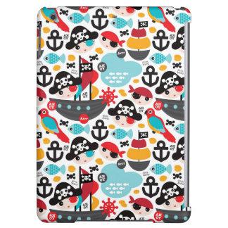 Retro pirates illustration sailing