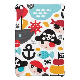Retro pirates illustration sailing iPad mini covers