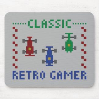 Retro Pixel Race Mouse Pad