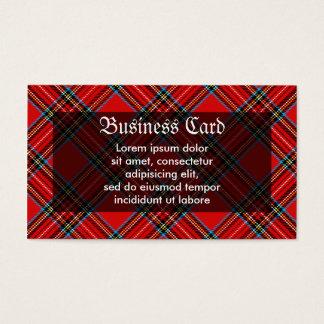 Retro Plaid Business Card