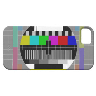 Retro PM5544 Television Test Pattern iPhone 5 Cover