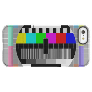 Retro PM5544 Television Test Pattern Permafrost® iPhone SE/5/5s Case