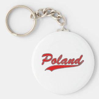 Retro Poland Key Ring