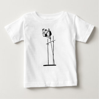 Retro Pole Vault Baby T-Shirt