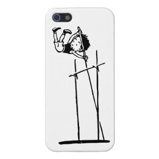Retro Pole Vault Cover For iPhone 5