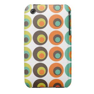 Retro polka dots iPhone 3 covers