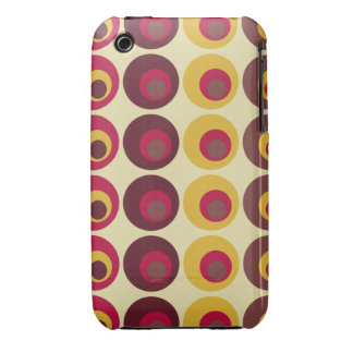 Retro polka dots iPhone Case iPhone 3 Cases