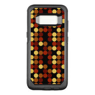 Retro Polka Dots Pattern OtterBox Commuter Samsung Galaxy S8 Case
