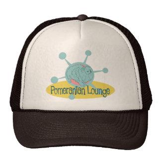 Retro Pomeranian Lounge Cap