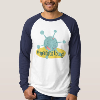 Retro Pomeranian Lounge T-Shirt