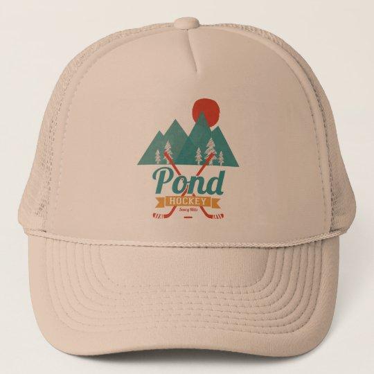 Retro Pond Hockey Cap