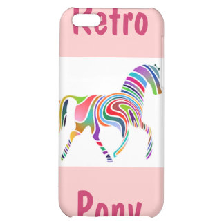 Retro Pony Cover For iPhone 5C