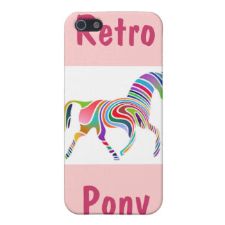 Retro Pony iPhone 5 Cases