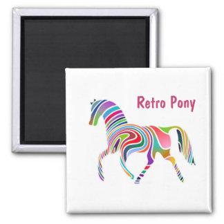 Retro Pony Magnet