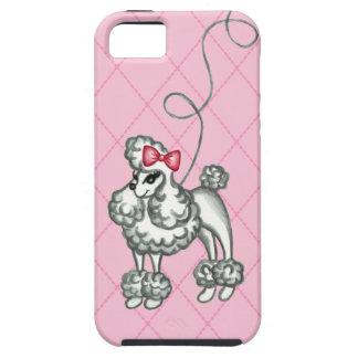 Retro Poodle  iPhone 5 Case