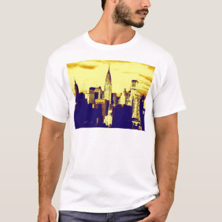 Retro Pop Art Comic New York City T-Shirt