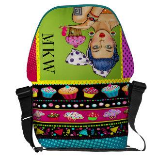 Retro Pop Art Lg Rickshaw Bag Courier Bag