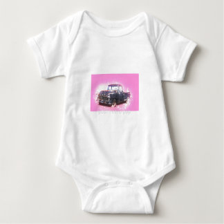 retro pop baby bodysuit