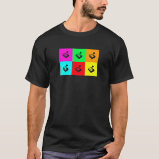 Retro popart Gamer Shirt