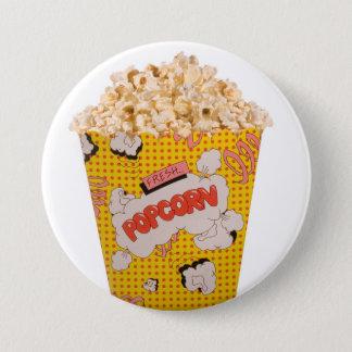 Retro Popcorn - Color 7.5 Cm Round Badge