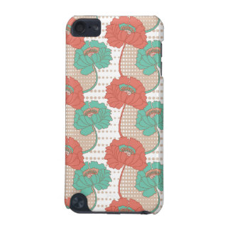 Retro Poppy Pattern iPod Touch (5th Generation) Cover