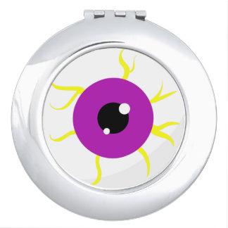 Retro Purple Eyeball Vanity Mirror