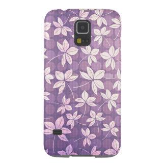 Retro Purple Galaxy S5 Covers