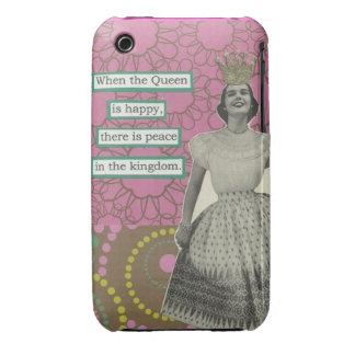 Retro Queen iphone3 case iPhone 3 Case-Mate Case