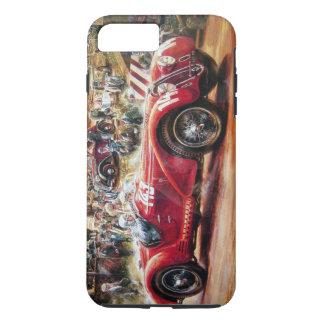 Retro racing car painting iPhone 7 plus case