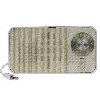 Retro Radio Dial PC Speakers