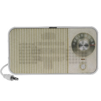 Retro Radio Dial Portable Speaker