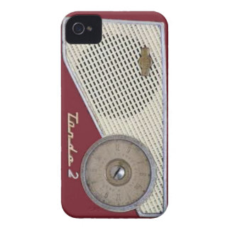 retro radio iPhone 4 cover