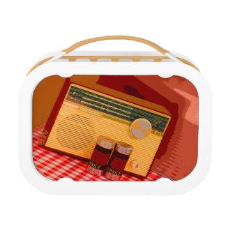 Retro Radio Lunch Box