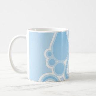 Retro Rain Drops Coffee Mug