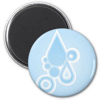 Retro Rain Drops Magnet