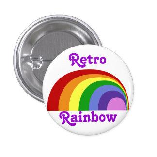 Retro Rainbow Button