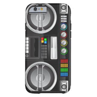 retro rainbow buttons boombox ghetto blaster iPhone 6 case